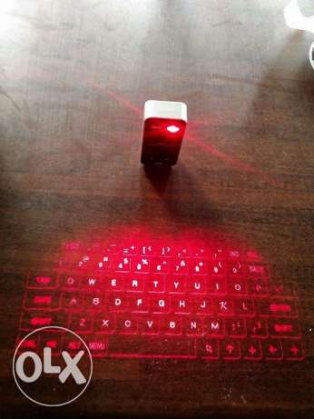 laser keyboard and projector and mouse
