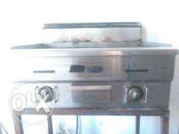 Italiaanse gas grill with staand
