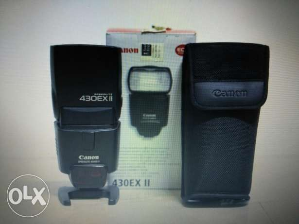 Flash canon 430exll الزقازيق -  1