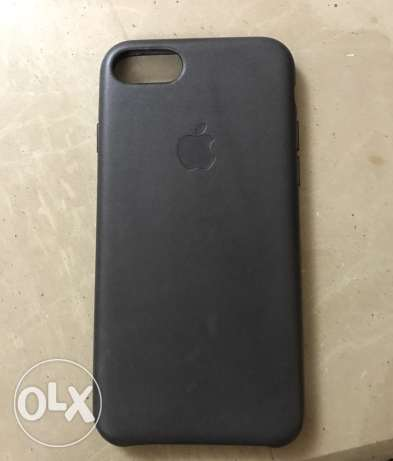 Iphone 7 original leather case (Storm Gray) المهندسين -  3