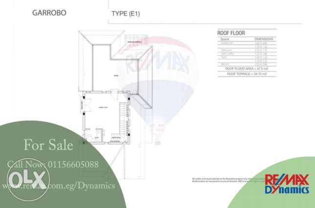 For Sale - Villa 372 m2 Hyde Park 5th Settelement 7,223,000 EGP Hyde P القاهرة الجديدة -  4