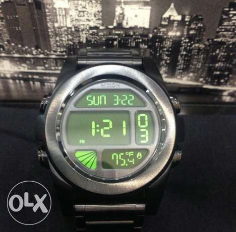 Nixon Digital Green Light