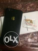 Iphone 6 housing new with all its accessoriesشاسيه ايفون اسود في ذهبي