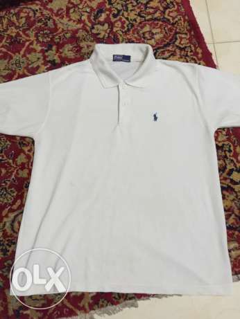 Of White us polo t-shirt for sale