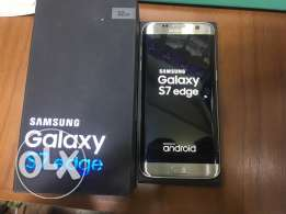 Samsung Galaxy S7 Edge Silve As New / All accessories / With warranty