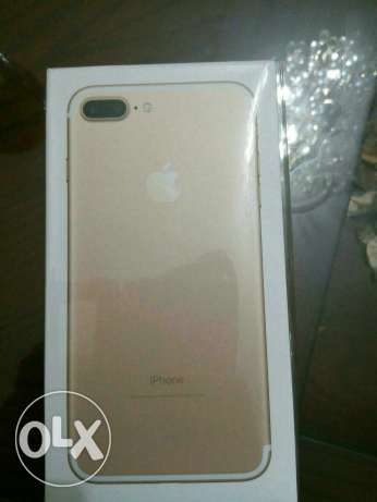 IPhone 7 Plus 128 GB Gold colour cheapest than tradeline in Egypt شيراتون -  3