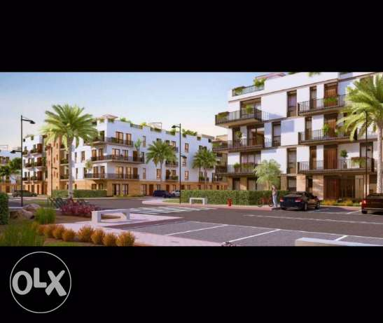 (Sodic-eastown) flat 215sq with garden 120sq phase1 ready to deliver