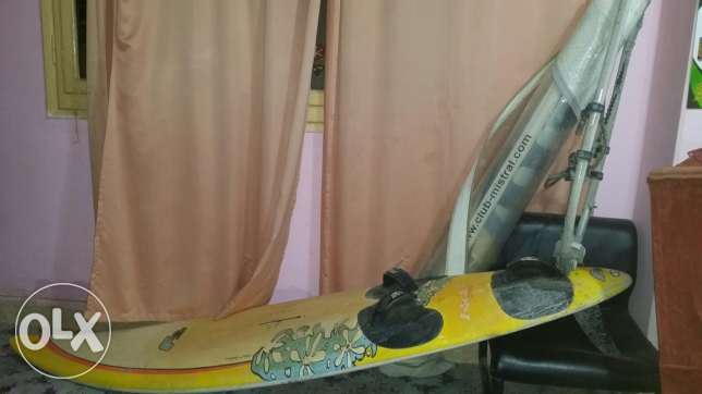 Windsurfing board