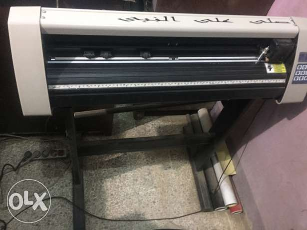 ماكينه تقطيع فسفور cutting plotter