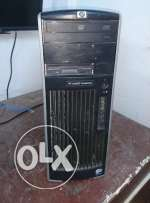 HP XW6600 workstation (CPU (2 processor) x5260 ,12 Ram)