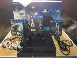 Playstation 4 + 3 games
