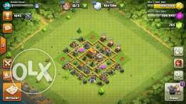 Clash of clans town hall 5 max for sale