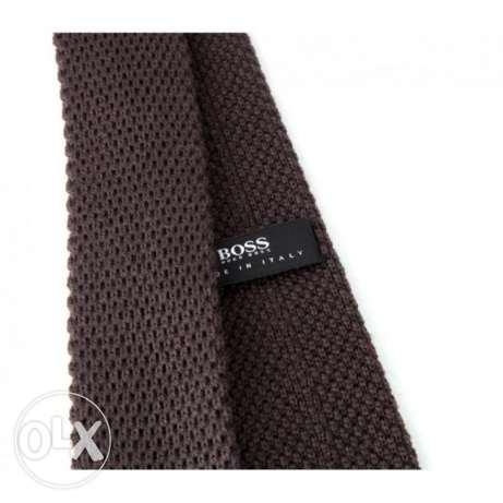 Brown Tie -Boss usa المعادي -  4