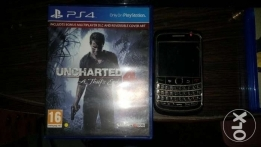 Uncharted 4 + Blackberry