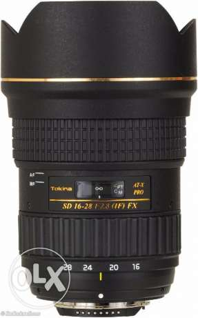 Tokina 16-28 mm Full Frame ATX F 2.8 For Canon New Without Box مدينة نصر -  3