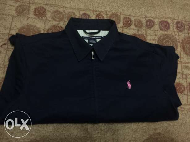Polo Ralph original Jacket for women , size XL , blue colour , جبردين المعادي -  2