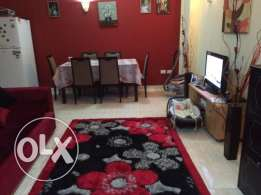 Flat in Magawish, in compound with a swimming pool. 60 sqm, 1 bedr