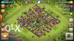 Clash of Clans Account Max Town Hall 8