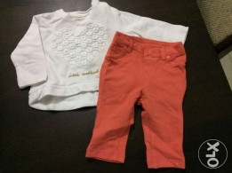 outfit for baby girl - size 3-6