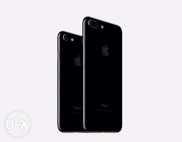 "iPhone 7 plus 128g silver or black ""unlocked "" brand new بنها -  1"