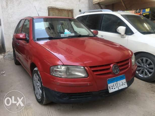 Pointer VW 2006 Red - 74000 KM. - 5 doors - cassette -