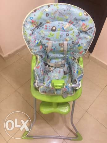 Original Graco highchair مدينتي -  3
