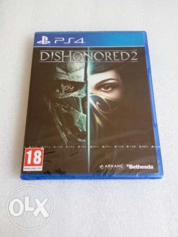 Dishonored 2 Ps4 New