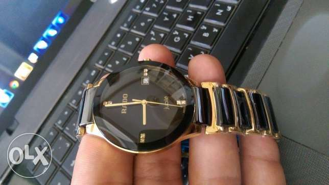 Rado Centrex Black Gold