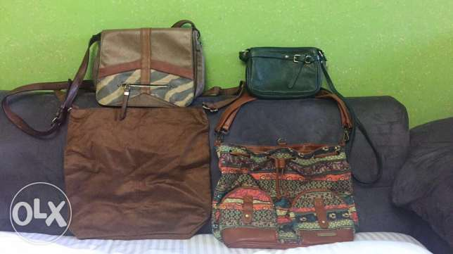 New& used bags