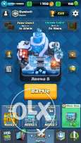 Clash royale account for sale. Dumbell