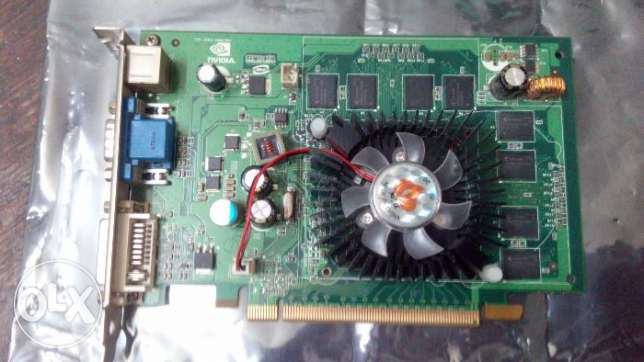كارت شاشة NVIDIA GeForce 8400GS 512MB القاهرة -  1