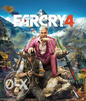Farcry 4 account ps4 المعادي -  1