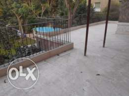 Furnished Apartment With Terrace Located In Maadi Sarayat For Rent