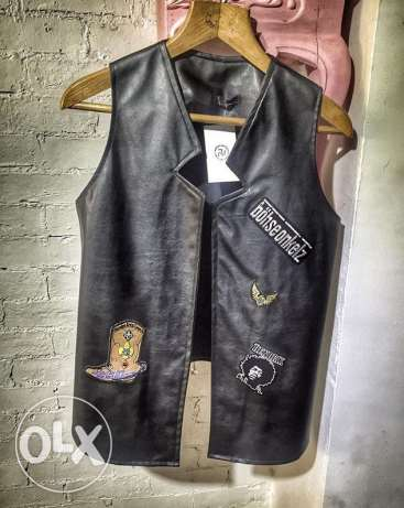 leather vest from bohogallery