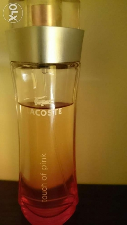 Ladies Lacoste touch of pink perfume