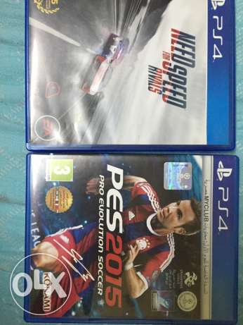 need for speed rivals + pes 2015