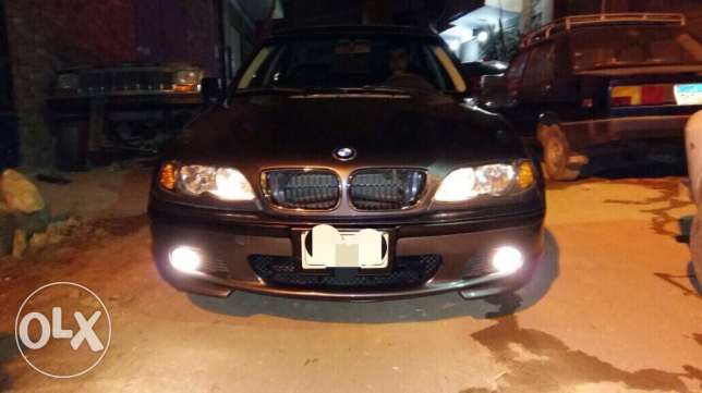 Bmw e46 model 2002 face lift 2005