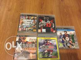 5 CD Playstation 3