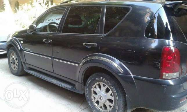 Sang Yong Rexton 4×4 in Perfect and rare Condition
