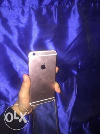 iPhone 6s plus 64 with box like new Rose Gold المعادي -  2