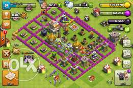 Clash of clans town hol 7 max