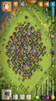 Clash of clans Th 9 4247 Gems 5 builders.