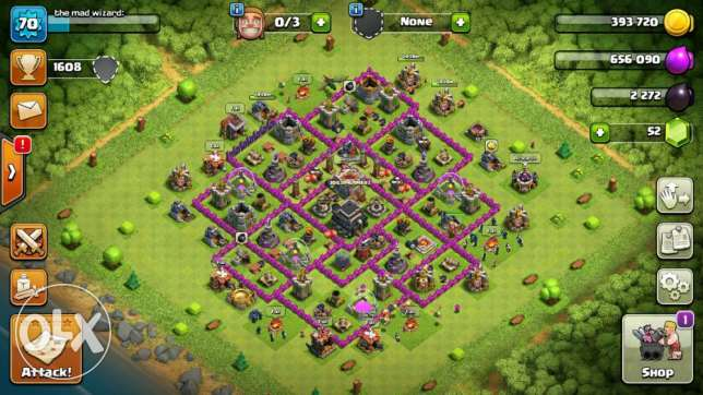 Clash of clans town hall9