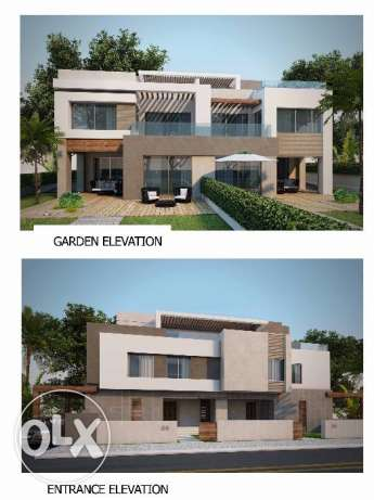 Twin-house located in 6 October for sale 358 m2, Palm Valley