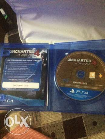 Uncharted 4 Used PS4