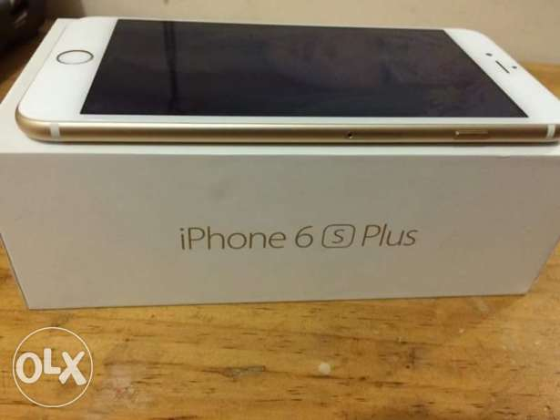 I phone 6s plus gold المنيل -  3