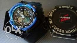 Casio g shock blue & black