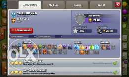 clash of clans th9 1100 gems 5 builders