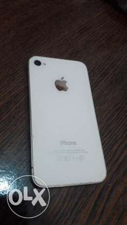 iPhone 4S White From the United States الإسكندرية -  1