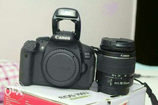 Canon 700 d package بنها -  1